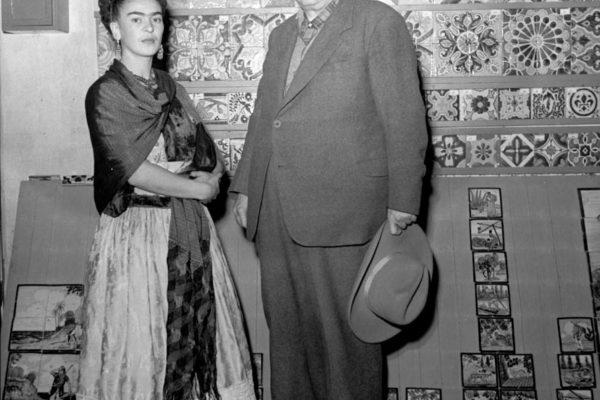 Frida Kahlo. Leo Matiz. Stampa analogica