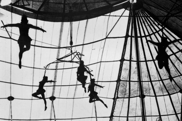 Trapesistas.Serie: El circo