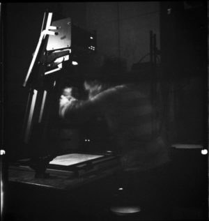 darkroom, analog photography, silver gelatin print